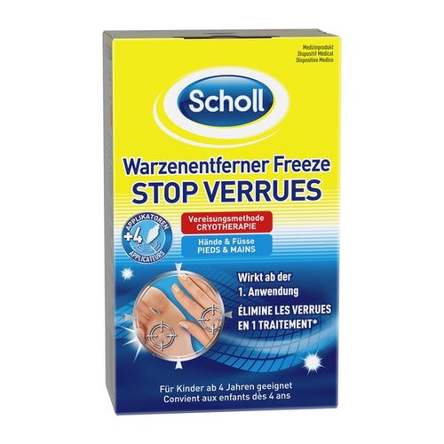 Scholl Site DE Aid Scholl Warzenentferner Freeze 16 Sticks