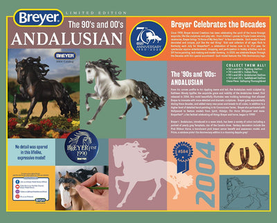 90s & 00s Andalusian | 70th Anniversary Model Model Breyer