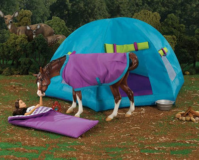 Backcountry Camping Set Model Breyer