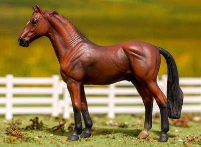Bay Hanoverian Stallion Model Breyer