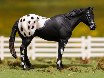 Black Appaloosa Stallion Model Breyer
