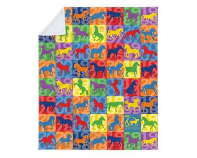 Breyer 70th Anniversary Fleece Blanket Apparel Breyer