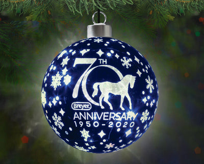 Breyer 70th Anniversary Glass Ball Ornament Model Breyer