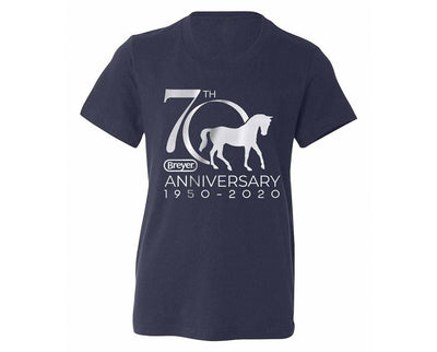 Breyer 70th Anniversary Youth T-Shirt Apparel Breyer
