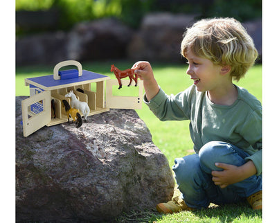 Breyer Farms™ Wood Stable Playset Model Breyer