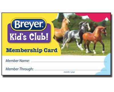 Breyer Kid's Club - International Membership Club Membership Breyer