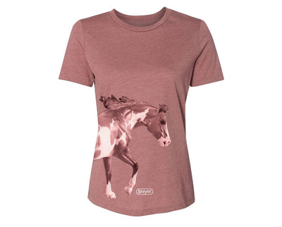 Breyer Western Paint Horse Ladies T-Shirt Apparel Breyer