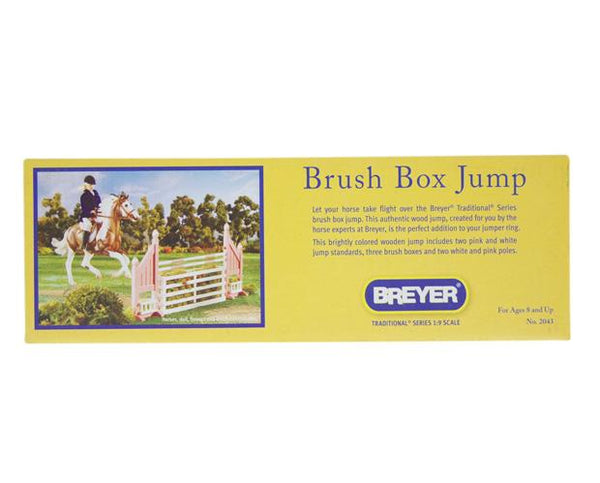 Breyer Brush Box Jump