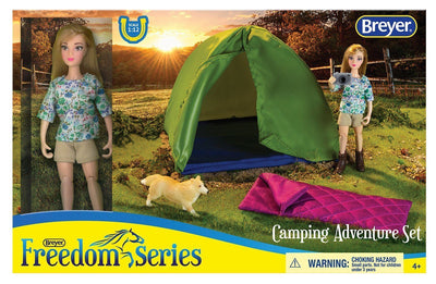 Camping Adventure Set Model Breyer