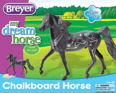 Chalkboard Horse Model Breyer Retired