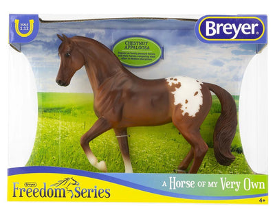Chestnut Appaloosa Model Breyer