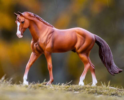 Chestnut Quarter Horse Model Breyer