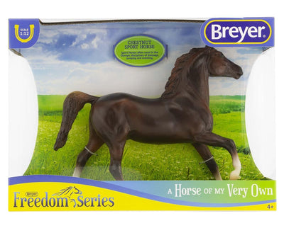 Chestnut Sport Horse Model Breyer
