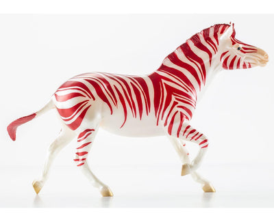 Christmas Candy - Zebra! Club Model Breyer