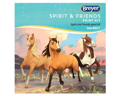 Deluxe Spirit & Friends Painting Kit Model Breyer