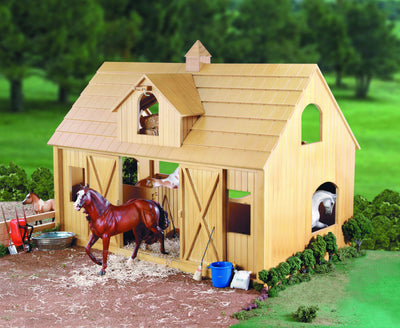 Deluxe Wood Barn with Cupola Model Breyer