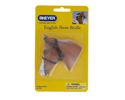 English Show Bridle Model Breyer