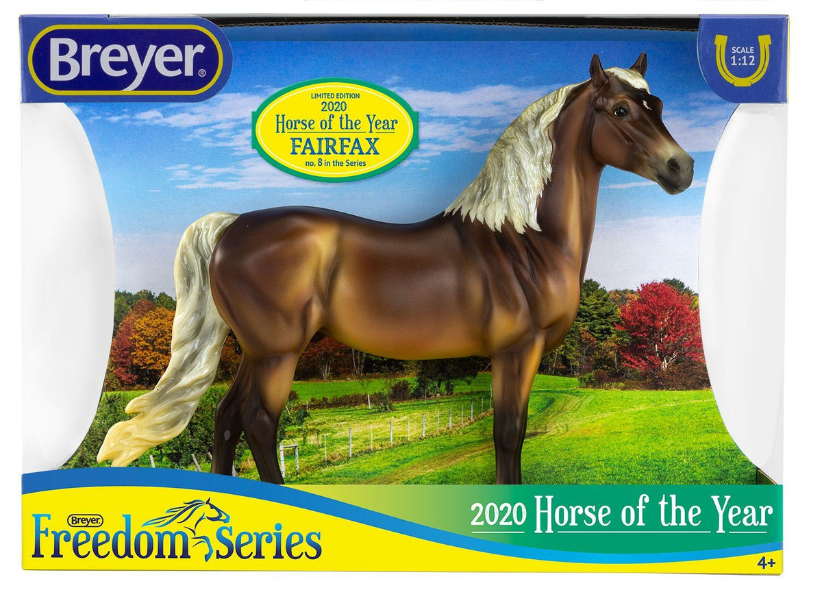 Fairfax, Morgan - 2020 Horse of the Year Model Breyer