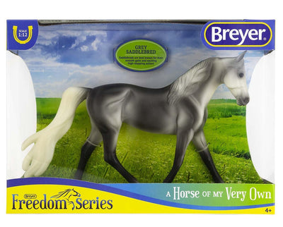 Grey Saddlebred Model Breyer
