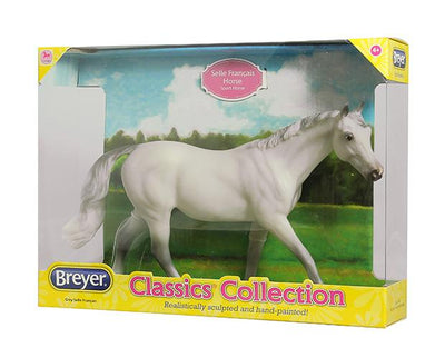 Grey Selle Francais Model Breyer Retired