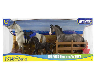 Heroes of the West Model Breyer