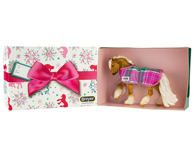 Honeybunch | Palomino For Christmas Model Breyer