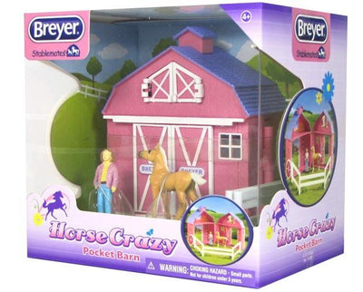 Horse Crazy Pocket Barn Model Breyer