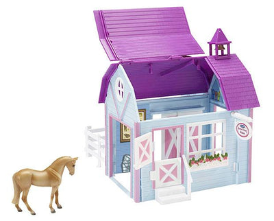 Horse Crazy Stable Model Breyer