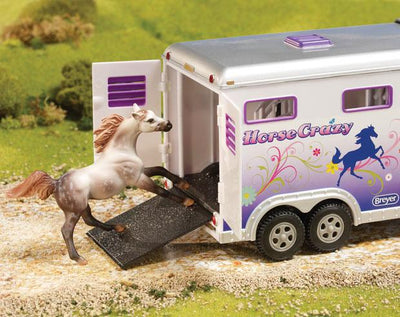 Horse Crazy Truck & Trailer Model Breyer