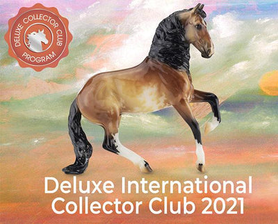 International 2021 Deluxe Collector Club Club Membership Breyer