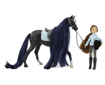 Jet & English Rider, Charlotte Model Breyer