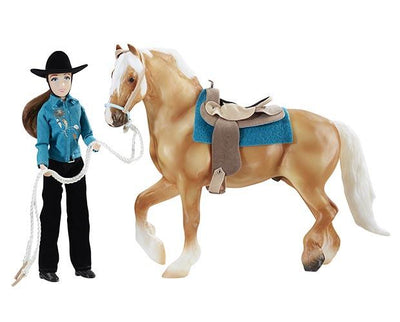 Let's Go Riding Western Model Breyer Retired