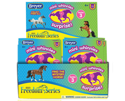 Mini Whinnies - Series 3 - Individual Bag Model Breyer