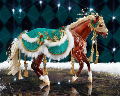 Minstrel | 2019 Holiday Horse Model Breyer