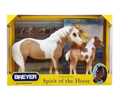 Misty & Stormy - Models and Book Set Model Breyer