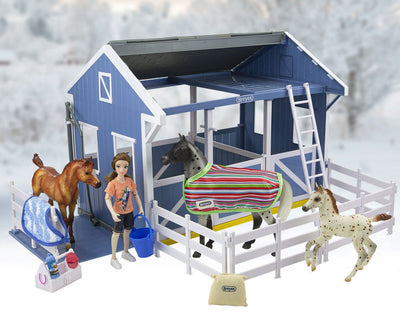 NEW Freedom Series Country Stable Gift Set Model Breyer