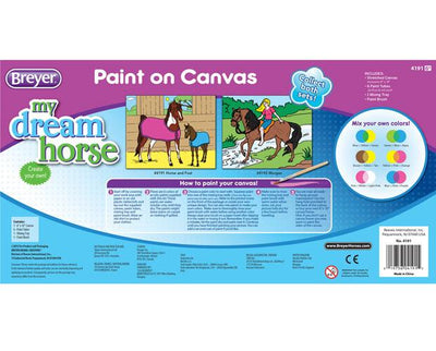 Paint on Canvas - Morgan Model Breyer