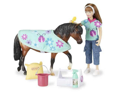 Pony Care Set Model Breyer Retired