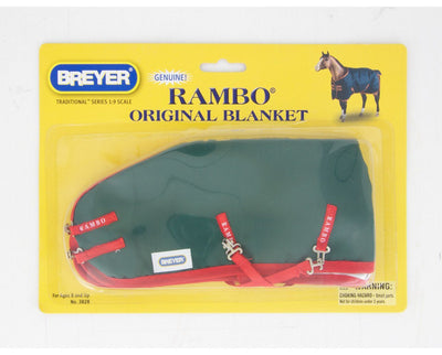 Rambo Blanket Model Breyer