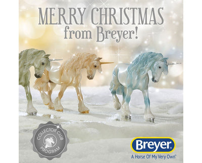 Santa Surprise Club Model Breyer Retired