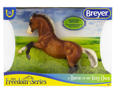 Silver Bay Mustang Model Breyer