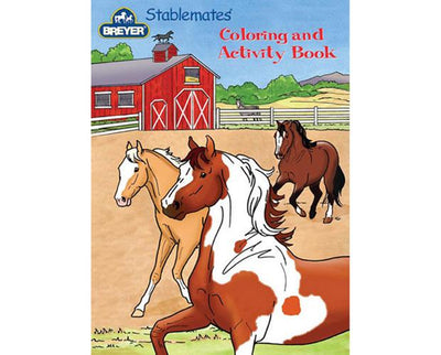 Stablemates Coloring & Activity Book Model Breyer