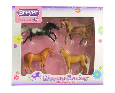 Stablemates Horse Crazy Gift Set Collection Model Breyer