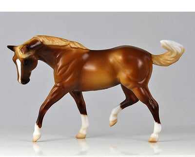 Stablemates Horse Lover's Collection Shadow Box Model Breyer