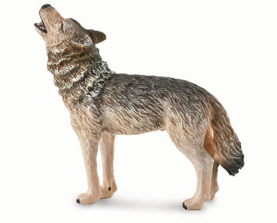 Timber Wolf Howling Model Breyer