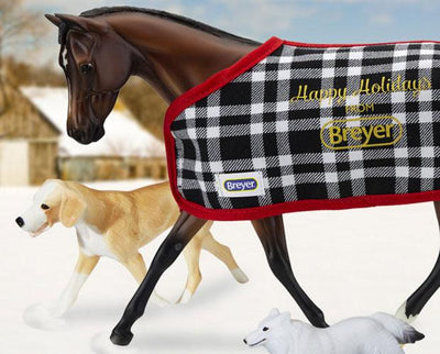 Traditional Holiday Blanket Model Breyer