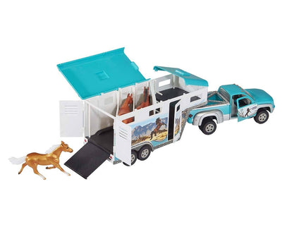 Truck and Gooseneck Trailer Model Breyer