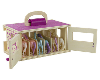 Unicorn Magic Wood Carry Case Model Breyer