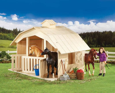 West Wind Stable Model Breyer