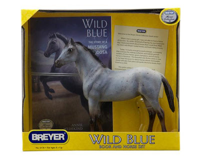 Wild Blue Book and Model Set Model Breyer